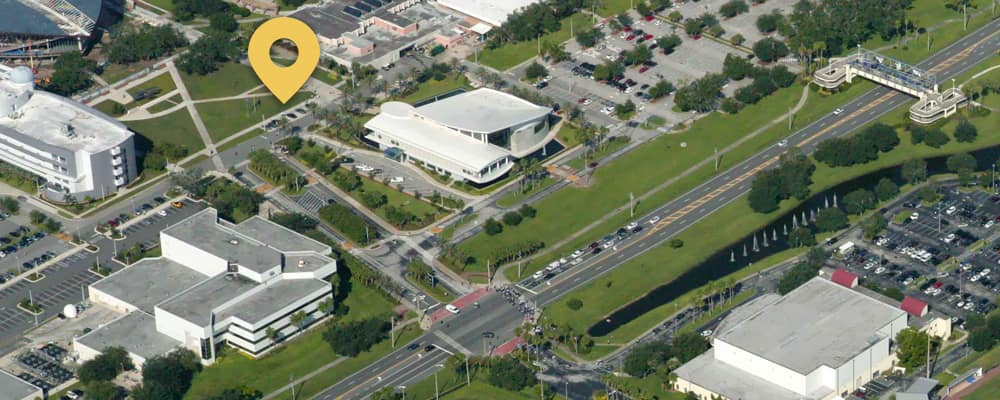 Ucf Cocoa Campus Map.Directions Embry Riddle Aeronautical University Daytona Beach Fl
