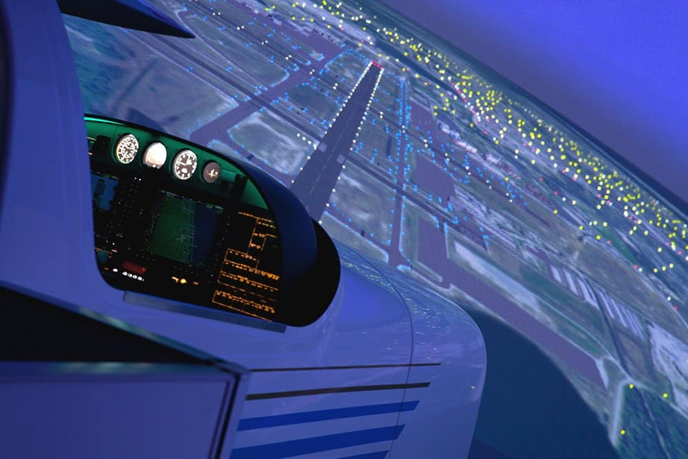 Frasca Diamond DA42-VI Level 6 Flight Training Device