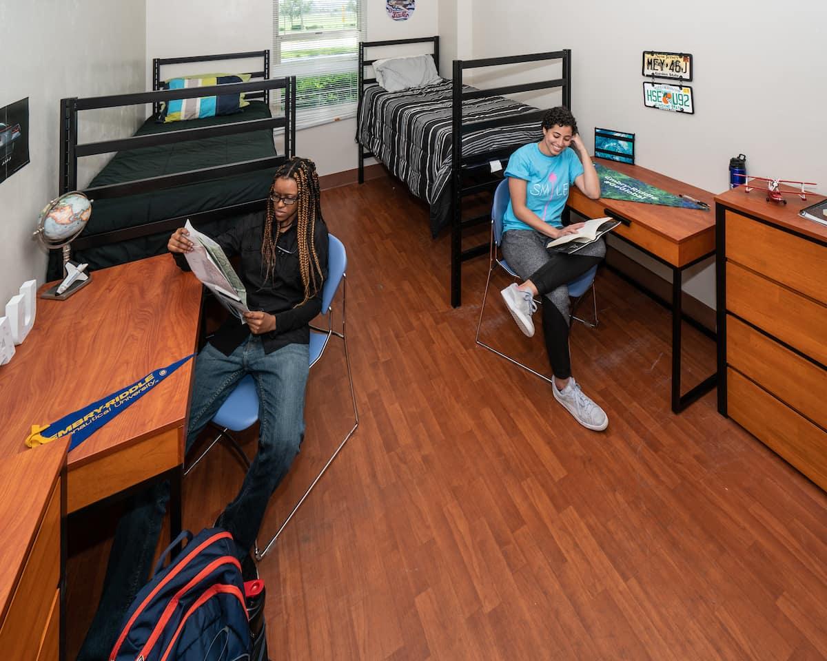 O'Connor Hall dorm room