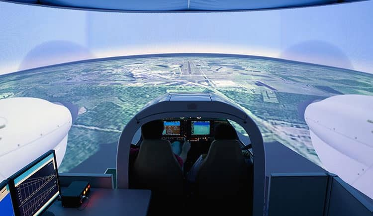Flight Simulation & Training Devices | Embry-Riddle Aeronautical
