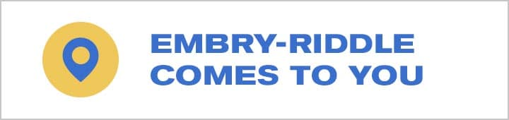 embry-riddle comes to you logo