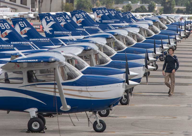 Flight Line and Fleet | Embry-Riddle Aeronautical University