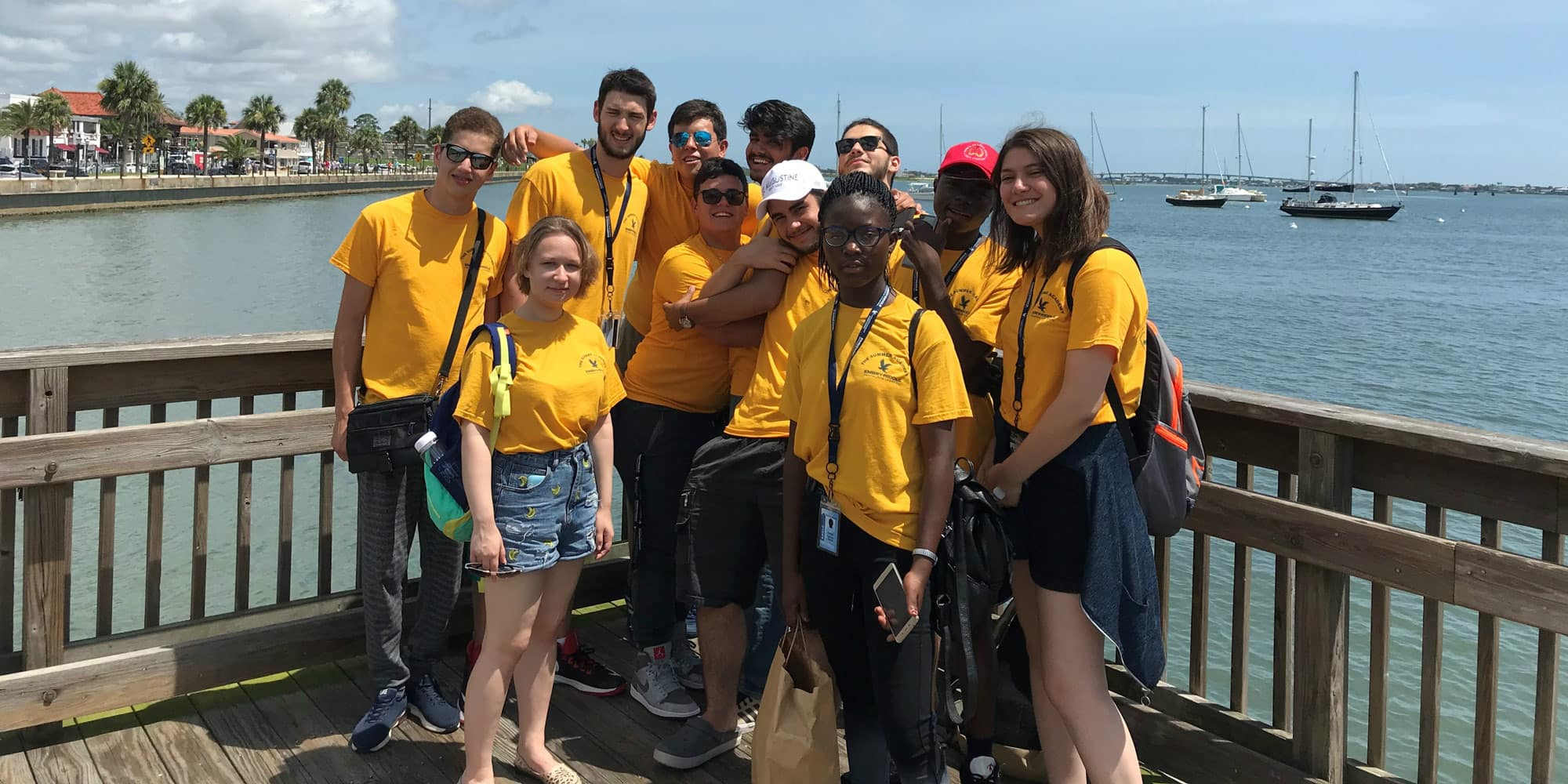 students visit St. Augustine