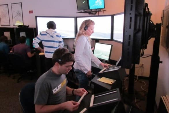Air Traffic Control Tower Lab at Embry-Riddle Aeronautical University in Daytona Beach