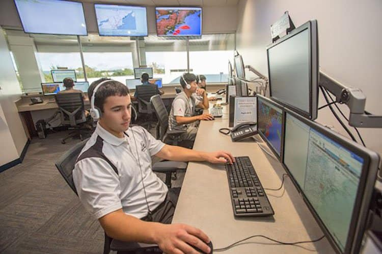the Airline Operations Center
