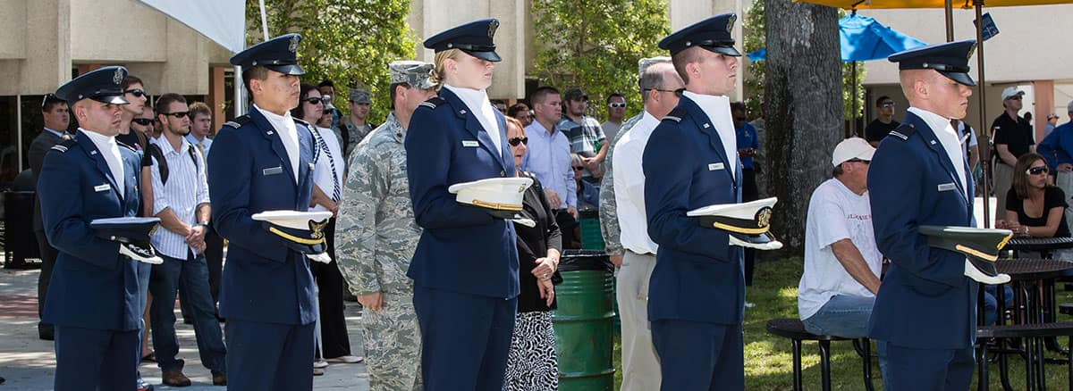 air force rotc cadets