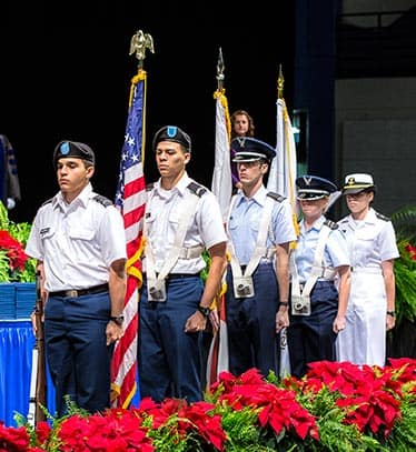 the color guard