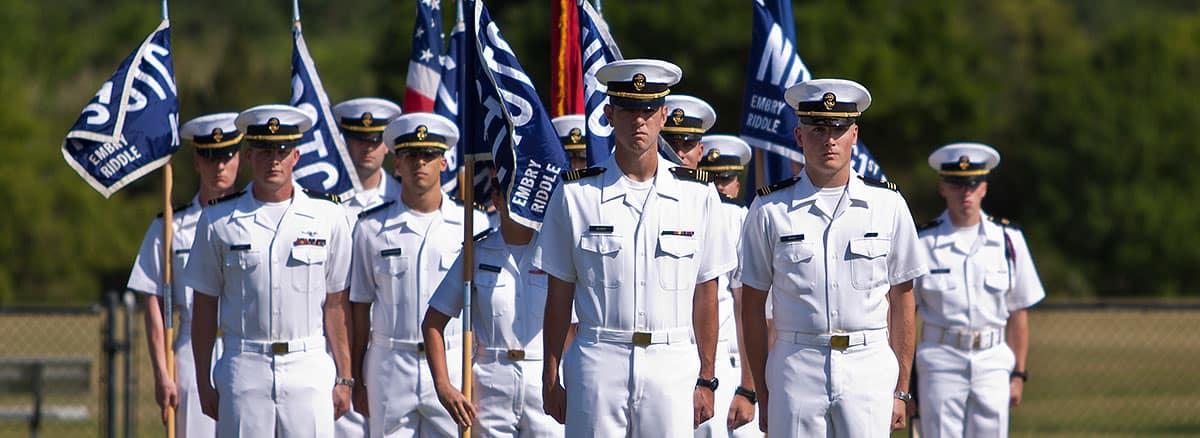 Naval ROTC Embry Riddle Aeronautical University Daytona Beach FL