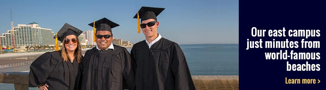 Graduates Stand On Main Street Pier