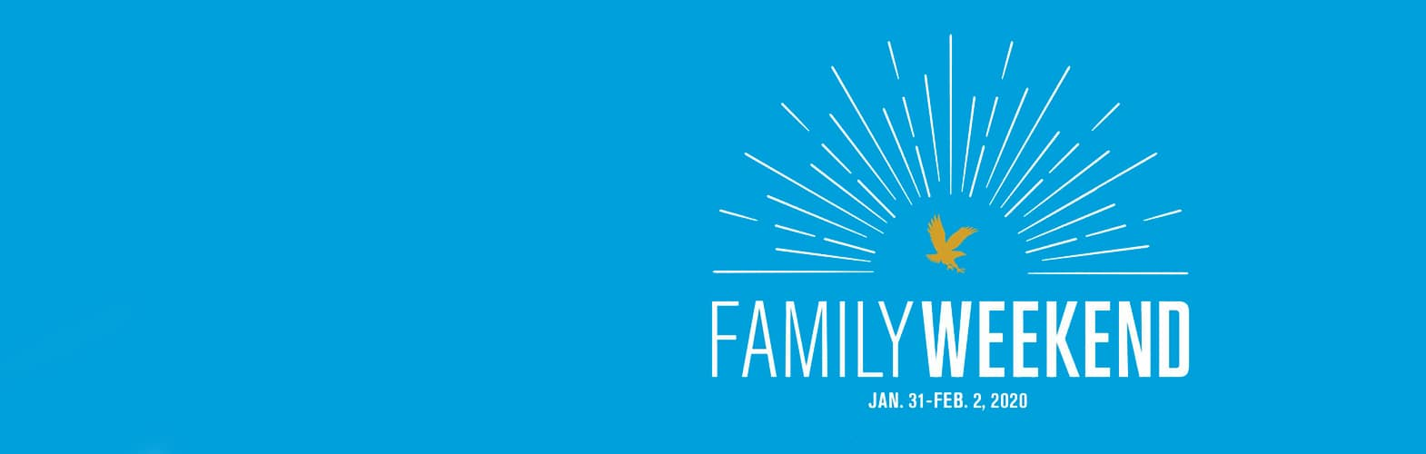 Family Weekend 2020 Logo